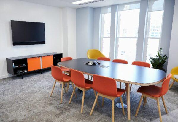 modern av boardroom