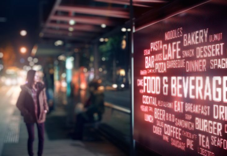 digital retail signage