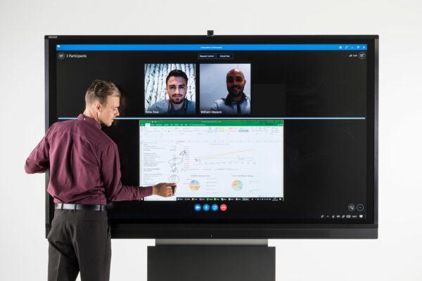 interactive touchscreen technology