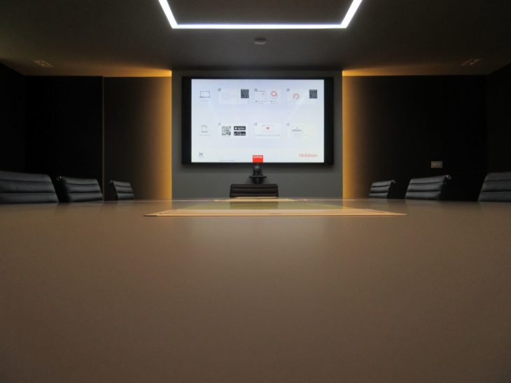 audio visual serviced meeting room