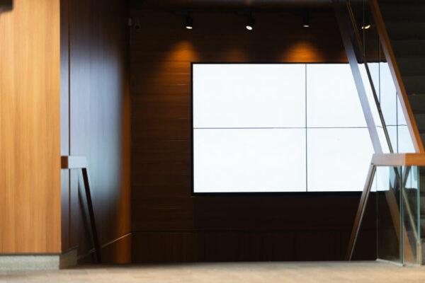 4 piece Video wall displays