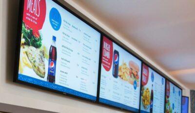 food digital signage