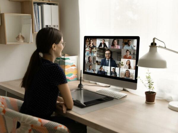 hybrid working meeting