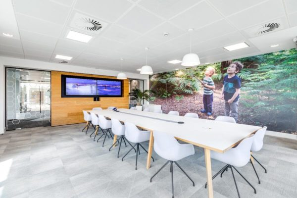 modern meeting rooms
