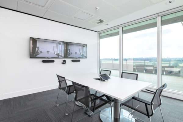 video conferencing office